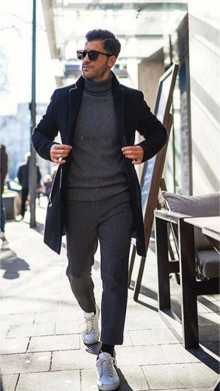 31 Business Casual Men Outfits you Can Wear Everyday During Winter - Femalinea