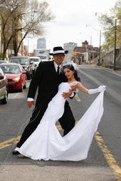 Chrissy & Andre's 1940s Art Deco Glamour Wedding   - Zoot suit wedding - #1940s ...