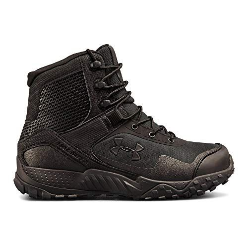 Under Armour Women's Valsetz RTS 1.5 Military and Tactical Boot, Black (001)/Black, 10
